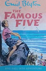 The Famous Five : Five fall into adventure #9