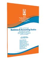 O/L : Business & Accounting Studies (2018) - 9 Provincial Papers & Answers Set (New Syllabus)